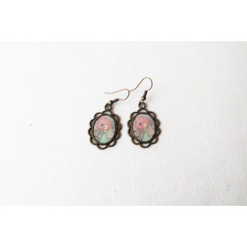 """candy kingdom Heart keeper""  Large cosmetic bag"