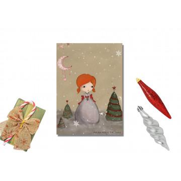 Pocket mirror - lena the little fairy
