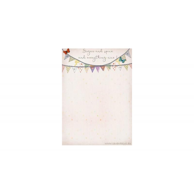 Little blue fairy- Passport case