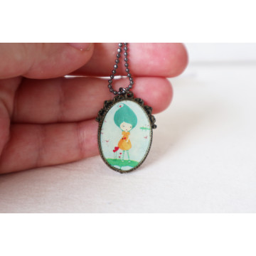 Anja- boho chic earrings