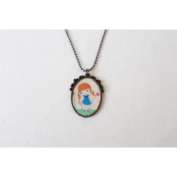 Black Queen- boho chic earrings