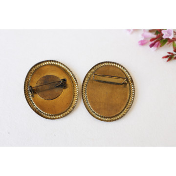 Red riding hood- boho chic earrings