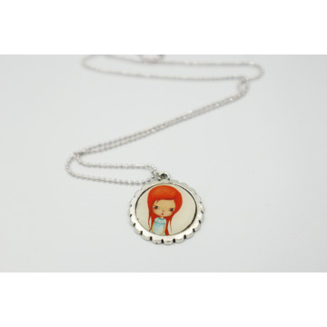 ♥ Pink fairy  - XL buttons 59mm