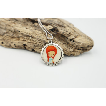 ♥ Little Red Riding Hood  - XL buttons 59mm